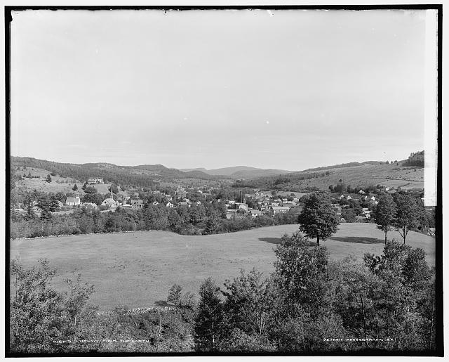 Ludlow from the north