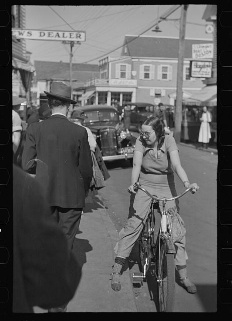 [Untitled photo, possibly related to: Street scene, Provincetown, Massachussetts]