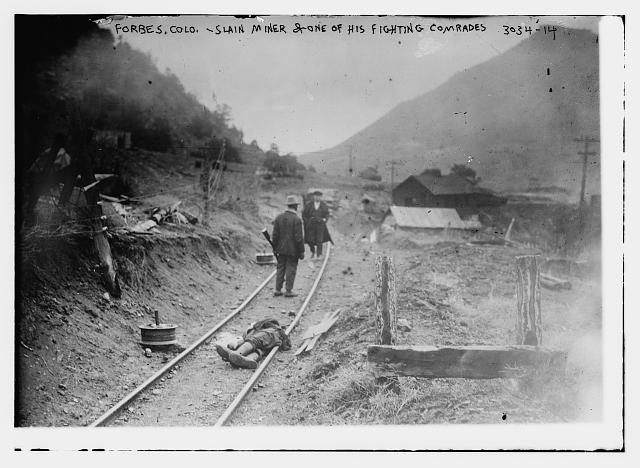 Forbes, Colo. -- Slain miner & one of his fighting comrades