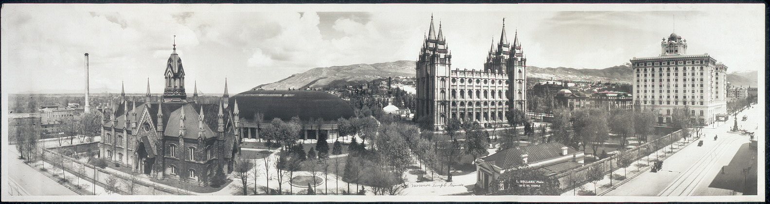 Salt Lake City, Utah, L. Hollard, photographer, 1912. Taking the Long View: Panoramic Photographs, 1851-1991