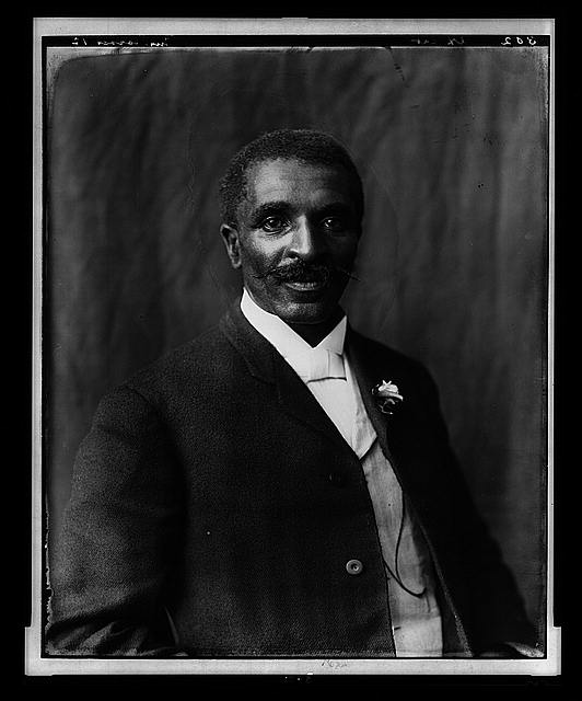 George Washington Carver in 1906 courtesy of Library of Congress
