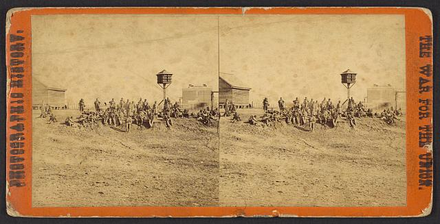 [Wounded colored soldiers at Aikens Landing]