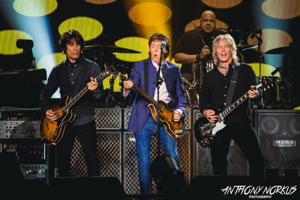 Paul McCartney Lives Up To Hype Unleashes Epic Show In