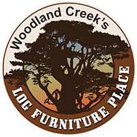 rustic outdoor furniture log wood
