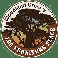 yellowstone rustic aspen log fireside coffee table