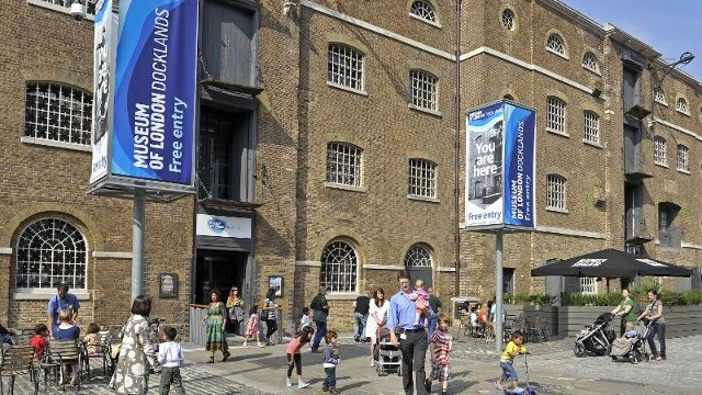 Image result for london museum docklands