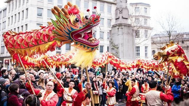 dragon dancers at chinese new year celebrations in london photo jon mo lcca - What Is The Chinese New Year