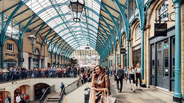 Covent Garden - Zona de tiendas - visitlondon.com