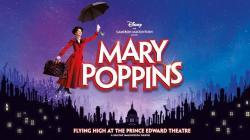 Mary Poppins at the Prince Edward Comédie musicale réouverture à Londres