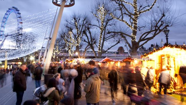 Image result for Southbank Centre Christmas Market