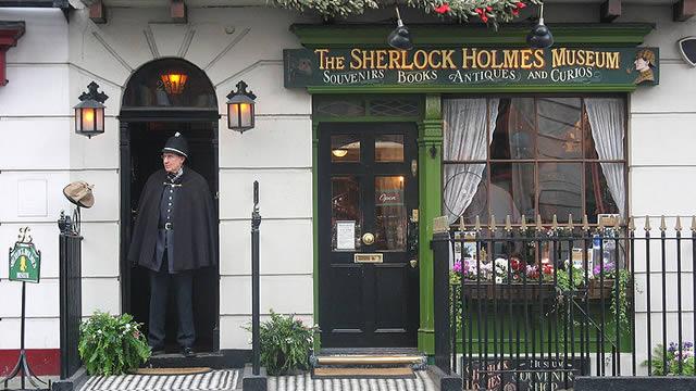 London Sherlock Holmes Museum 221B Baker Street