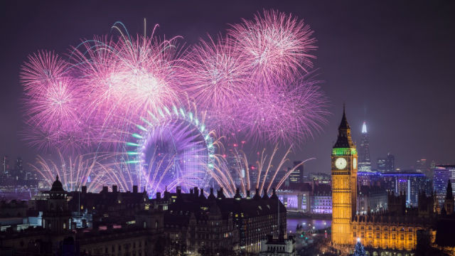 Image result for english new year eve