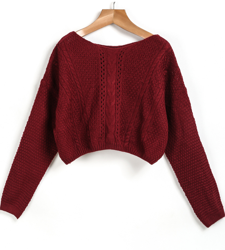 Fuzzy Cable Knit Sweater Forever 21