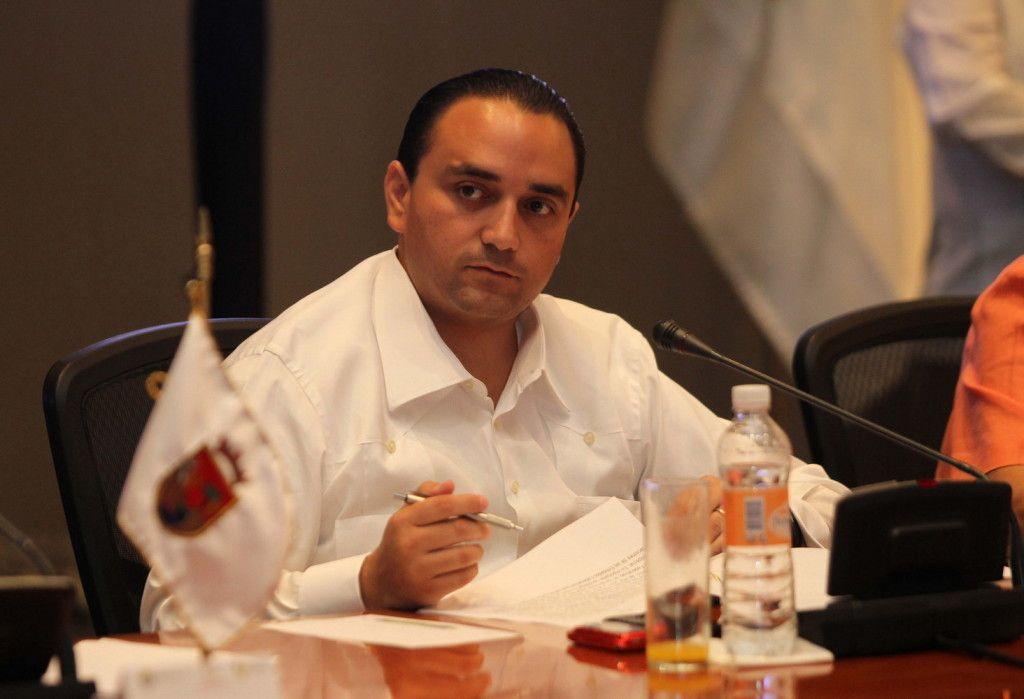 Roberto Borge, gobernador de Quintana Roo