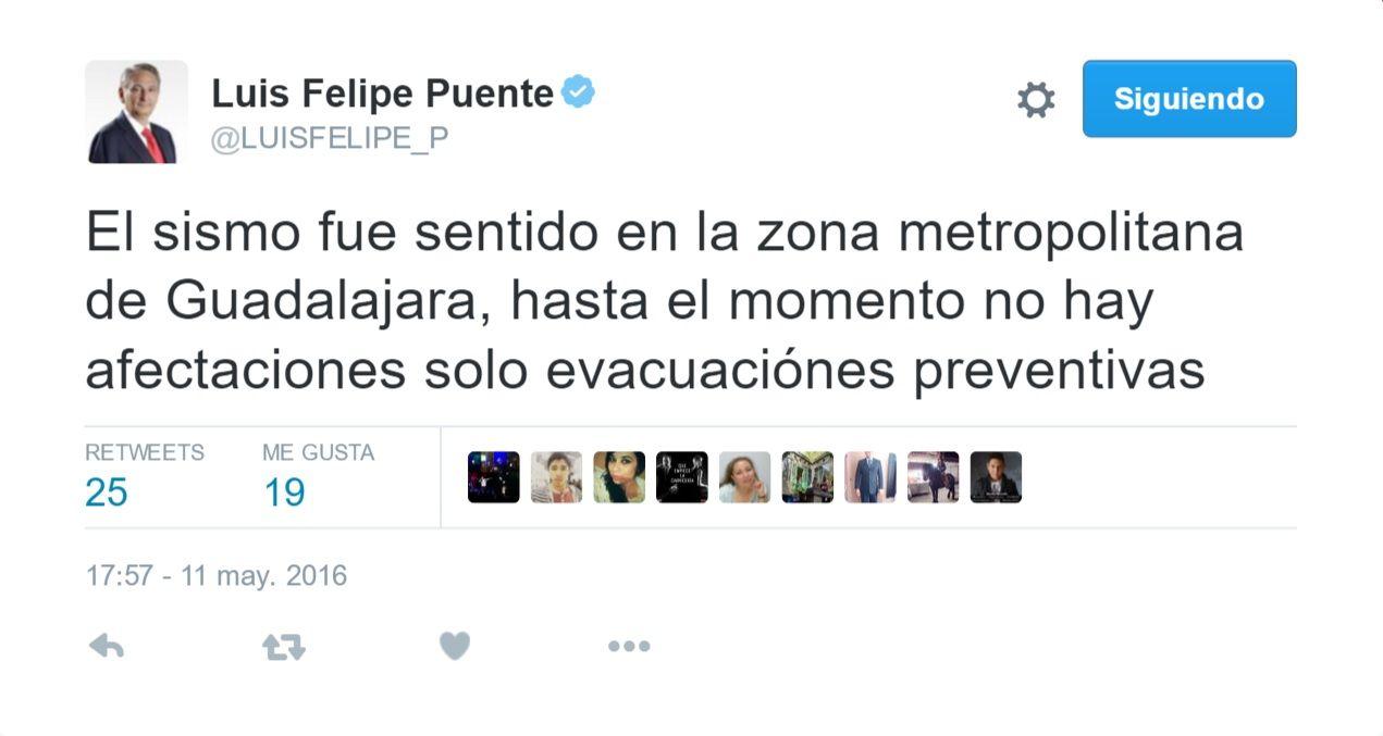Luis Felipe Puente Tuit 2