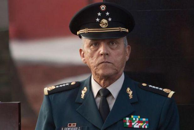 Salvador Cienfuegos Zepeda. Foto de Archivo
