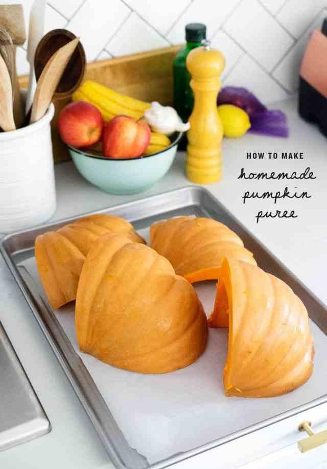 How to Make Pumpkin Puree - Recipes by Love and Lemons