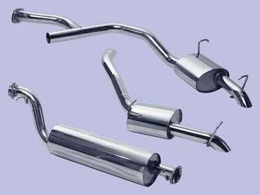 da4241 stainless steel range rover p38 exhaust system 2 5 bmw diesel twin tailpipe