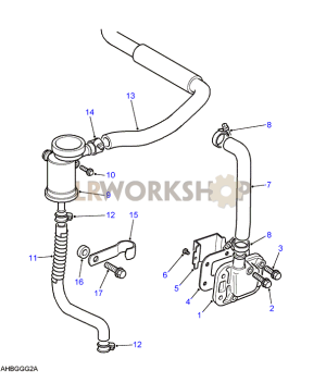 Engine Breather  25 NA  Find Land Rover parts at LR
