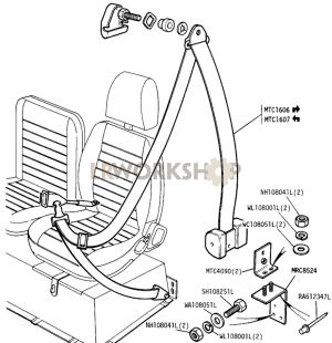 Inertia Reel Mounting Bracket