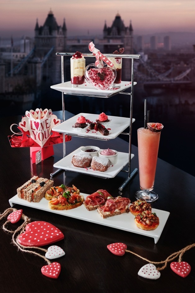 Skylounge All Loved Up Afternoon Tea At City London