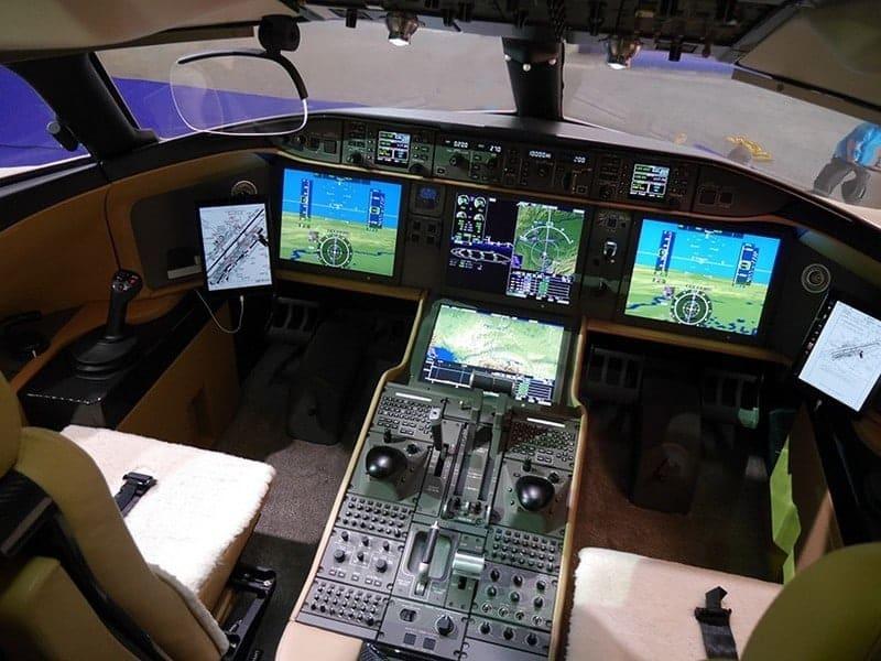 Bombardier Global 7000 Luxury Jet Is In A Luxury Class Of