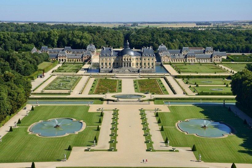 Chateaux Vaux-le-Vicomte