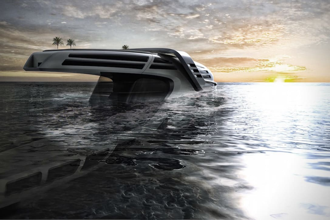 The Future Is Here With The Seataci Concept Yacht