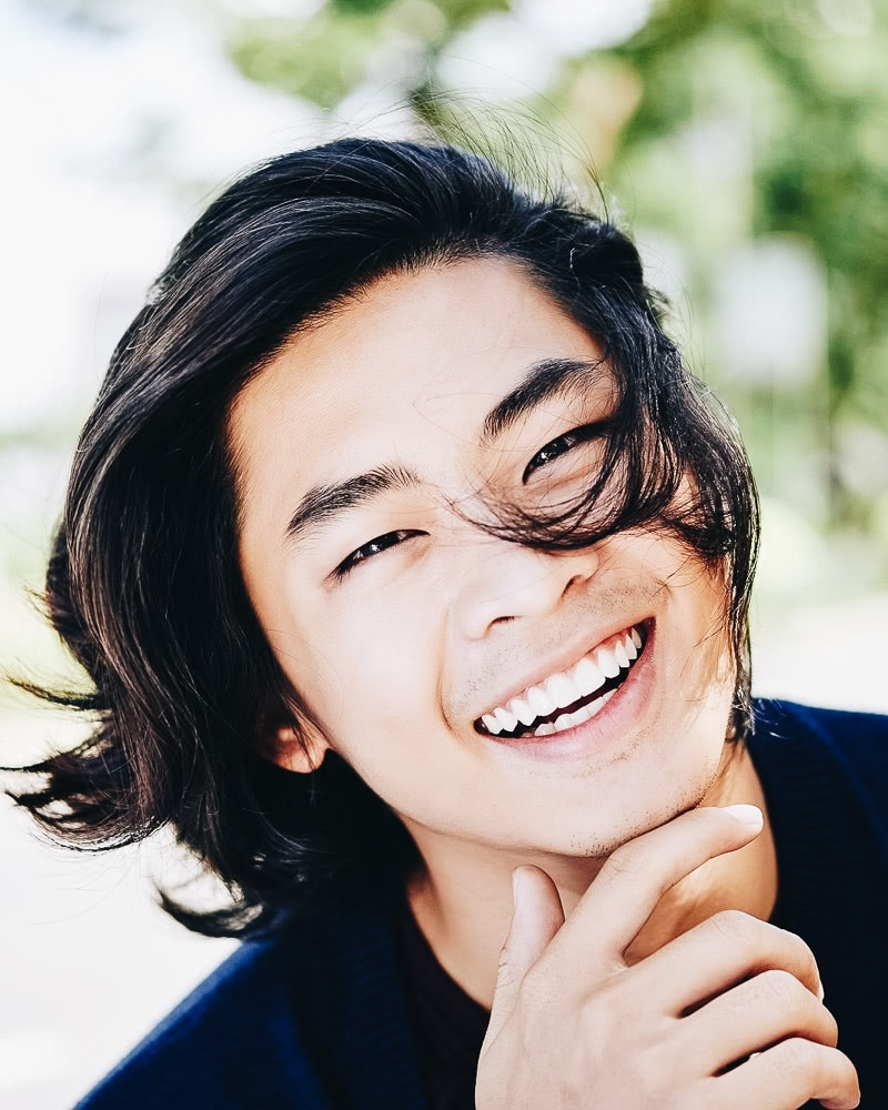 best medium length hairstyles men shoulder Asian - Luxe Digital