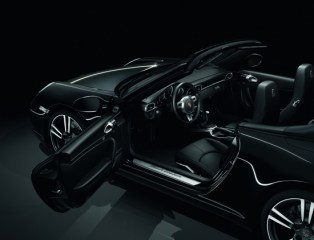 2012 911 Black Edition Interior