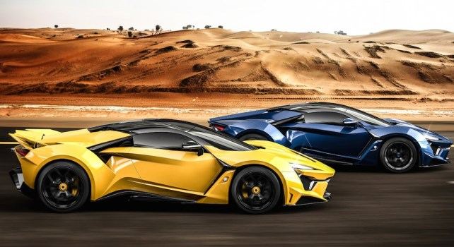 W Motors Fenyr SuperSport : La course aux supercars made in Dubaï