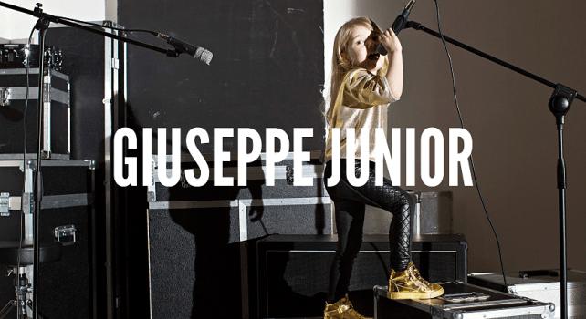 Giuseppe Zanotti : La marque italienne lance une collection pour les enfants