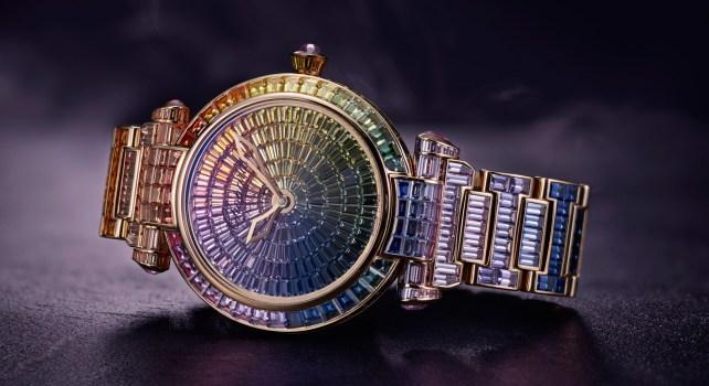 Chopard imperial joaillerie : La montre aux mille couleurs