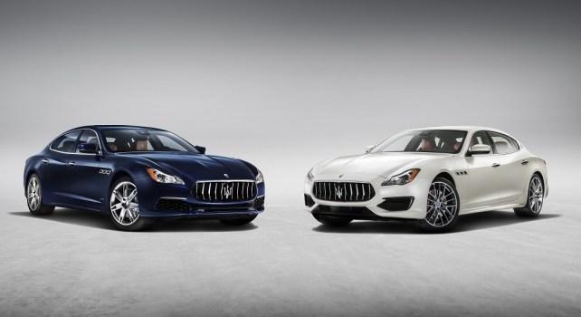 Maserati : La Quattroporte bénéficie d'un nouveau relooking