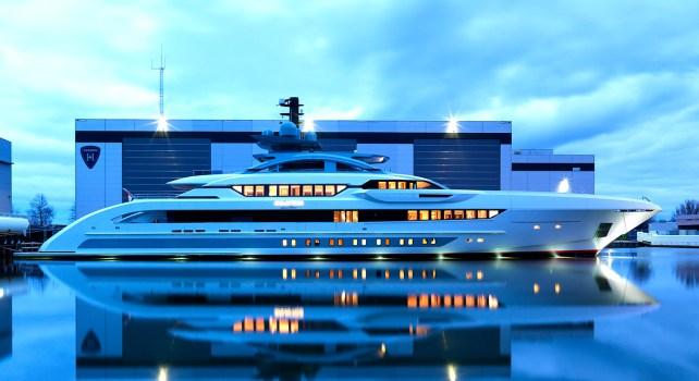 Galactica Super Nova : Quand Heesen Yachts mélange performance et luxe