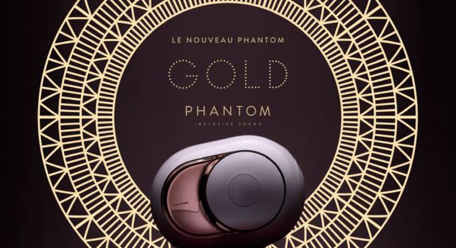 Devialet Gold Phantom : La nouvelle enceinte connectée made in France
