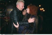 Sonia Rykiel et son ami Jean-Paul Gaultier