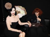 Sonia Rykiel et Dita Von Tees