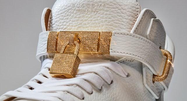 Buscemi 100 MM Diamond Sneaker : Inauguration de la première boutique New-Yorkaise