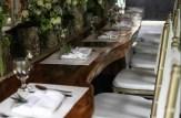 Hanging Gardens of Bali - Restaurant table
