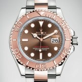 rolex yacht master or rose face