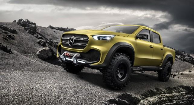 Mercedes-Benz Classe X : La marque Allemande se lance dans les pick-ups