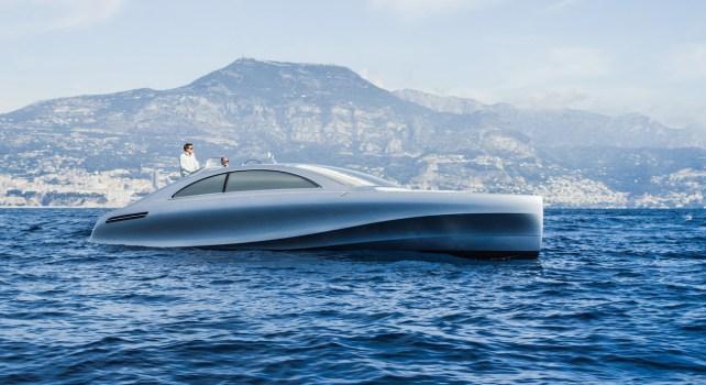 Mercedes-Benz Arrow 460-Granturismo : Le premier yacht de Mercedes