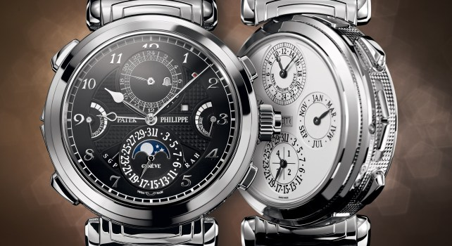 10 montres Patek Philippe de collection à plus d'un million de dollars