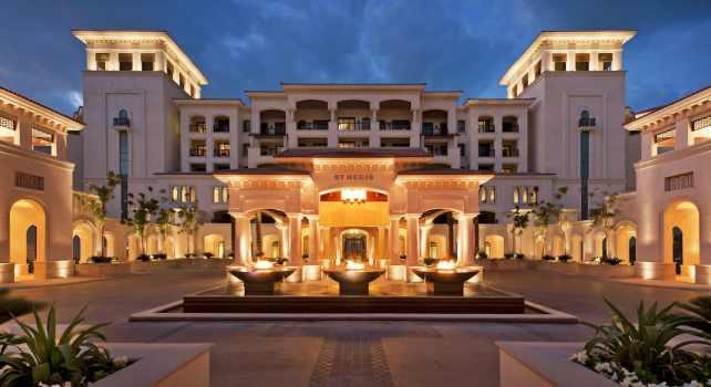 The St Regis Abu Dhabi : Le Charme de l'Orient