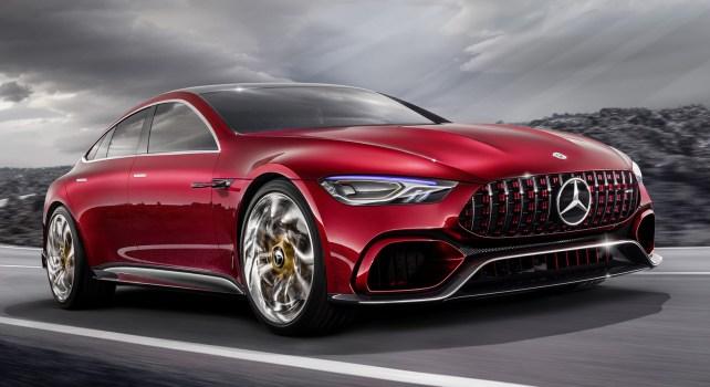Mercedes-AMG GT Concept : Un concept 4 portes dévoilé au Salon de Genève