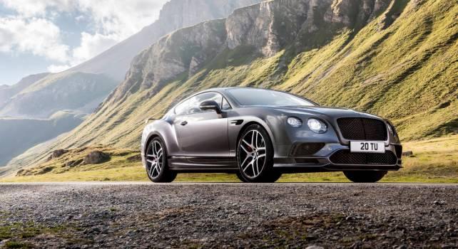 Bentley Continental Supersports 2017 : Un monstre au service du plaisir