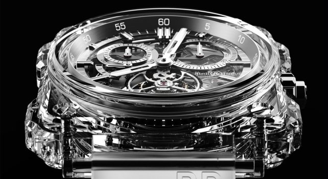 Bell & Ross BR-X1 Skeleton Tourbillon Sapphire : La montre entièrement transparente