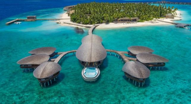 St. Regis Vommuli Resort : Un lieu au design d'exception aux Maldives