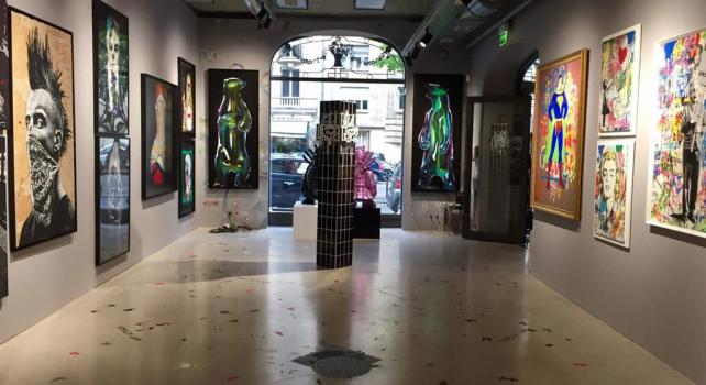 Art Attack : Le Street Art à l'honneur au Royal Monceau